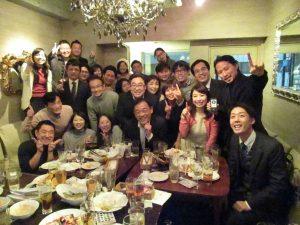ibb fukuokaビルの忘年会を開催。