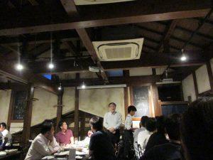 福岡市のシェアオフィスibbTenjinPoint、夏の懇親会開催。
