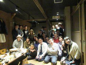 ibb fukuokaビルの懇親会。福岡市にて。
